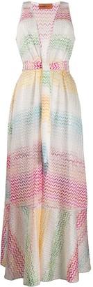 Missoni Mare Colour-Block Maxi Dress