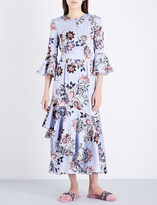 Erdem Florence floral silk dress