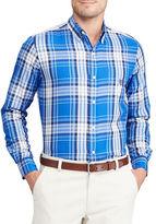 Chaps Big and Tall Plaid Twill Shirt