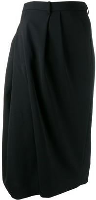 Maison Margiela asymmetric cropped trousers