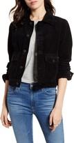 AG Jeans Evonne Crop Corduroy Jacket