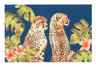 Liora Manné Illusions Cheetahs Indoor/Outdoor Mat Jungle