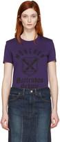 Junya Watanabe Purple Graphic T-Shirt
