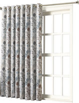 Sun Zero Sun ZeroTM Emory Printed Floral Room-Darkening Grommet-Top 100 x 84 Patio Panel