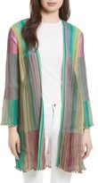 M Missoni Women's Plisse Knit Cardigan