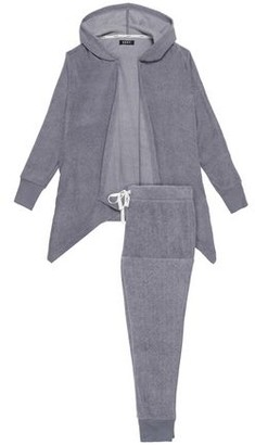 DKNY Fleece Hooded Pajama Set