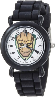 Marvel Boys Guardian Analog-Quartz Watch with Silicone Strap