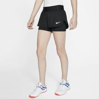 Nike Big Kids' (Girls') Tennis Shorts NikeCourt Flex