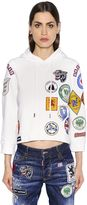 DSQUARED2 Patches Embellished Sweatshirt