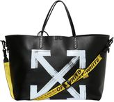 Off White Brushed Arrows Tote Bag