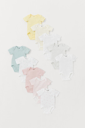 H&M 10-Pack Short-Sleeve Bodysuits