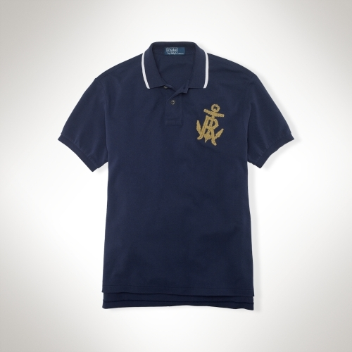 Polo Ralph Lauren Big & Tall Classic-Fit Anchor-Patch Polo