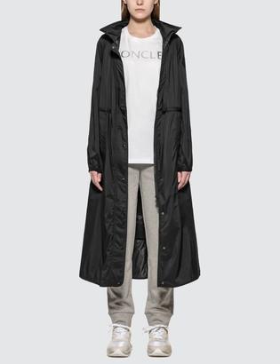 Moncler Black Trench Jacket