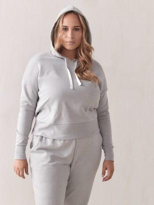 Long-Sleeve Fleece Hoodie - Addition Elle