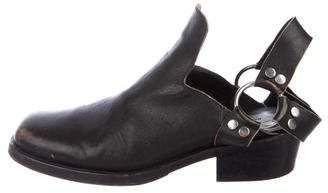 Balenciaga Leather Harness Boots