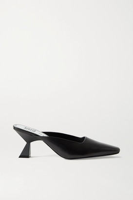 Givenchy Leather Mules - Black