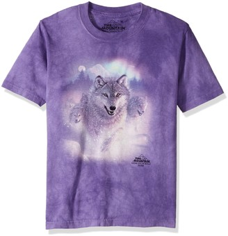 The Mountain Northern Lights Child T-Shirt