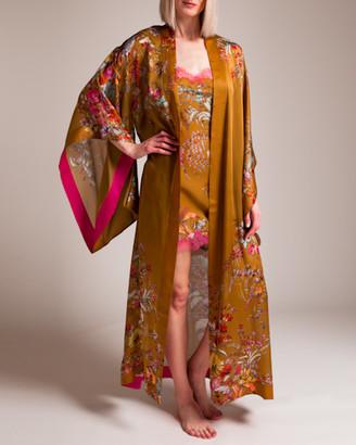 Carine Gilson Colorful Garden of Lace Kimono