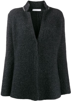 Fabiana Filippi classic fitted cardigan