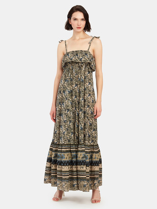 Free People Tanger Babydoll Maxi Dress