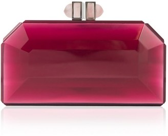 Judith Leiber Couture Faceted Resin Clutch