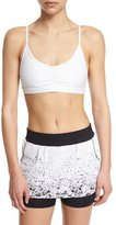 Koral Activewear Element Sports Bra with Removable Cups, White