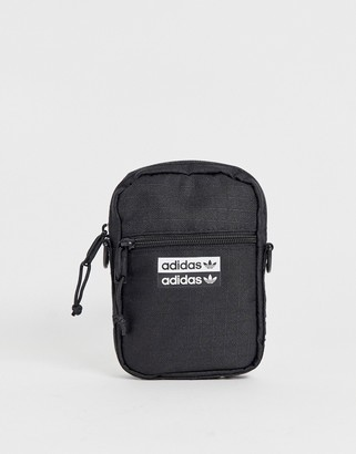 adidas mini multiway festival bag with taping strap-Black