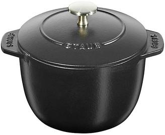 Staub Petite French Oven - Matte Black .75 Qt