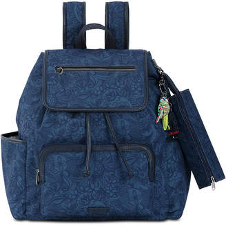 Sakroots Fleetwood Flap Backpack with Pencil Case