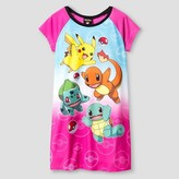 Girls' Pokémon Nightgown - Pink