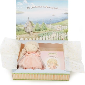 Bunnies by the Bay Pretty Girl Doll & Board Book Set