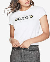 GUESS Cotton Stars Logo Graphic T-Shirt