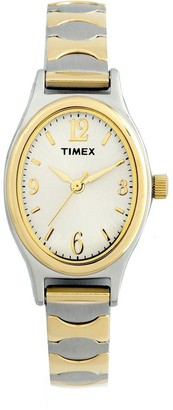 Timex Womens 2-Tone Classic Expansion Band Dress Watch