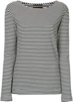 The Seafarer striped long sleeved T-shirt