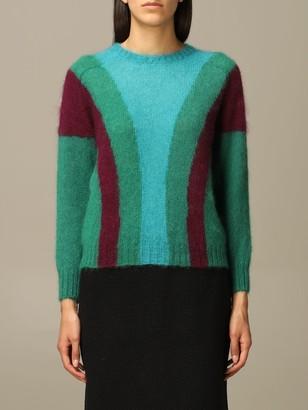 Alberta Ferretti Sweater Mohair And Virgin Wool Sweater