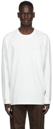 Martine Rose Off-White Oversized Warung Long Sleeve T-Shirt