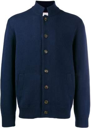 Brunello Cucinelli high-neck knit cardigan