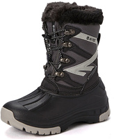Hi-Tec Gray & Black Avalanche Snow Boot