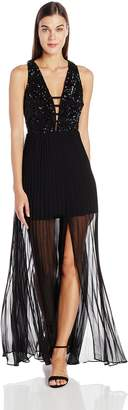 Ark & Co Women's Sequin Bodice Gown Dress