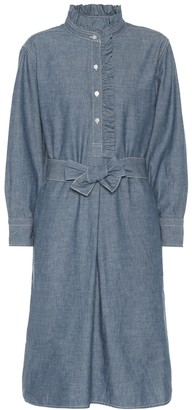 Tory Burch Deneuve chambray shirt dress