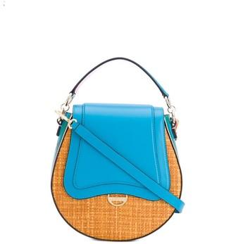 Emilio Pucci Woven Printed Panel Crossbody Bag