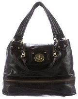 Marc by Marc Jacobs Leather Turn-Lock Shoulder Bag