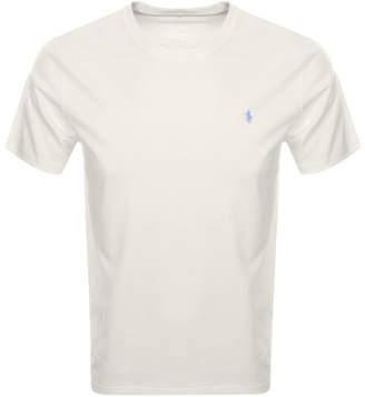 Ralph Lauren Crew Neck T Shirt Cream