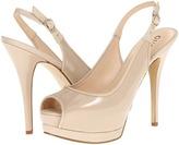 GUESS Glenisa (Light Natural Patent) - Footwear