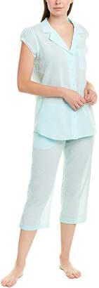 Eileen West 2Pc Pajama Capri Set
