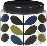 Orla Kiely Storage Jar - Khaki Marine - Small