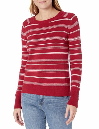 Unknown Pendleton Women's Textured Stripe Sweater