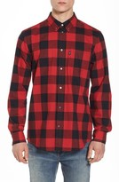 Wesc Men's Olavi Check Flannel Shirt