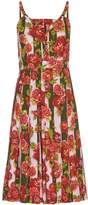 Emilia Wickstead Juliet floral and striped-print dress