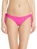Body Glove Women's Smoothies Sash Tie Tropix Bikini Bottom